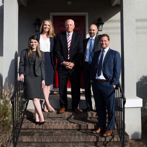Group of Lawyers standing in front of Tassone, Dreicer, & Hill | Law Firm